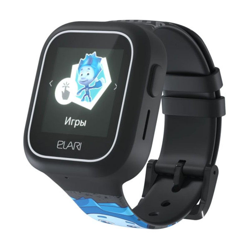 Elari ELFT-L/BLK Часы KidPhone FixiTime Lite черные